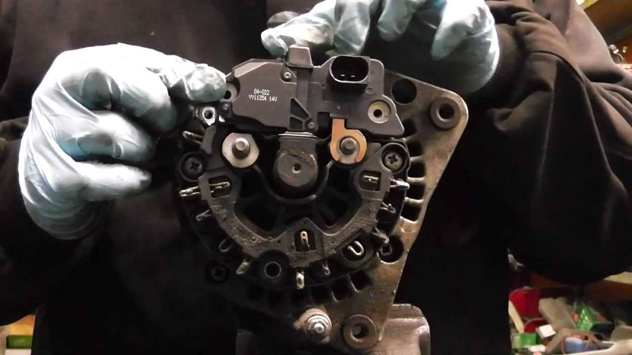 vw audi seat skoda alternator not charging diagnose and repair part1 rh youtube com