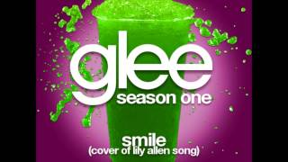 Glee - Smile (Lily Allen) (DOWNLOAD MP3+LYRICS)
