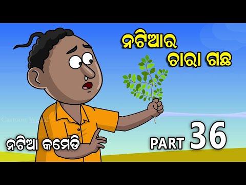Natia Comedy Part 36    Natia Ra Chara Gacha    Utkal Cartoon World