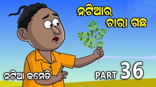 Natia Comedy part 36 || Natia ra chara gacha || Utkal cartoon world