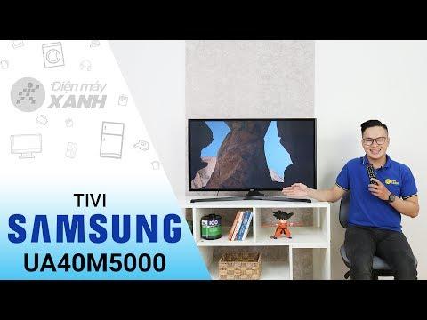 Tivi Samsung UA40M5000  - Thiết Kế Tinh Tế Và Hiện đại | Điện Máy XANH