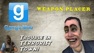 How To Use TTT Weapon Placer on a TTT Server [Gmod]