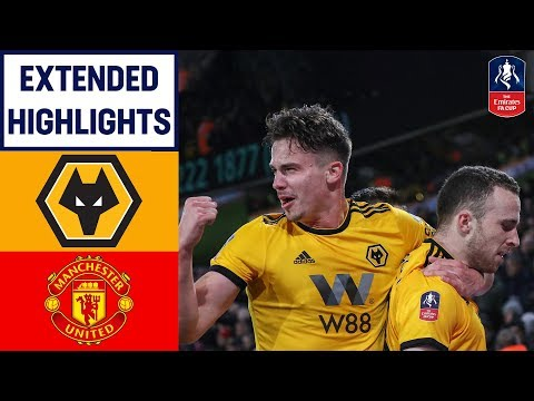 Dominant Wolves Display Sends United Out! | Wolves 2-1 Manchester United | Emirates FA Cup 18/19