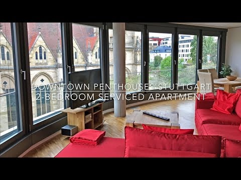 2-Bedroom Serviced Apartment Stuttgart - Downtown Apartments Stuttgart