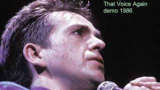 Peter Gabriel - That Voice Again demo 1986
