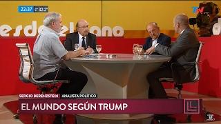 """J.Bárbaro, S.Berenzstein, y A.Katz en """"Desde el llano"""", de J.Morales Solá - 30/01/17"""