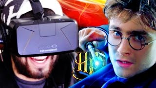 Harry Potter In VIRTUAL REALITY! | Walk INSIDE Hogwarts! | Oculus Rift DK2