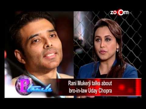 Rani Mukerji - Uday Chopra should focus on his career! - EXCLUSIVE