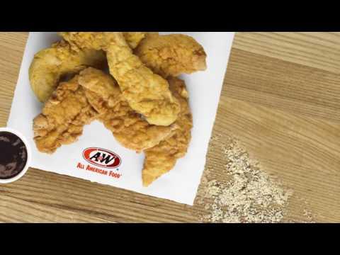 A&W's Hand- Breaded Chicken Tenders