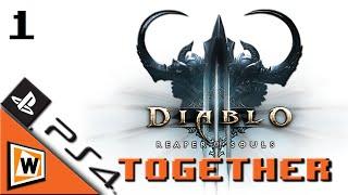Let's Play Together Diablo 3: Reaper of Souls - PS4 [HD] #1 Hardcore in Full HD