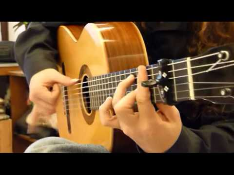 Flamenco Guitar Alegrías
