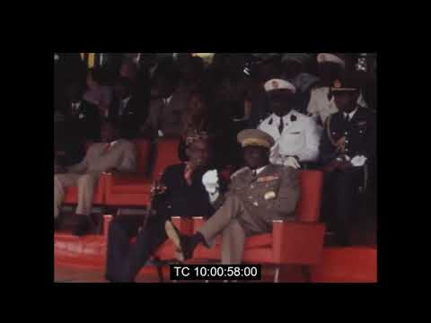 Mobutu Sese Seko Special Guest of Gnassingbe Eyadema | Togo National Liberation Day | January 1972