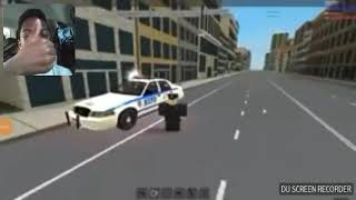 Police mod on roblox gun shot fire.