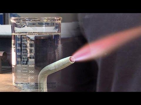 Un nouveau procédé pour faire du feu avec de l'eau - futuris