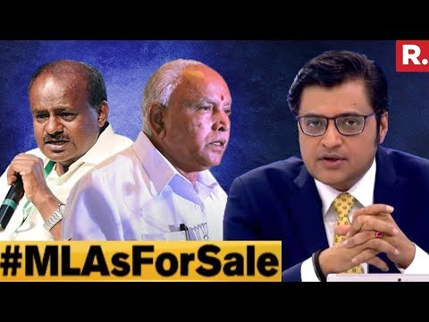 Did You Vote For Resort Politics? #MLAsForSale | The Debate With Arnab Goswami