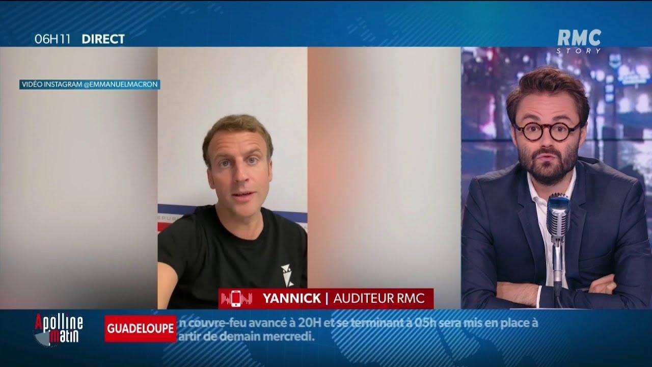 """Download Emmanuel Macron sur Tik Tok et Instagram: """"Mes enfants ne sont pas dupes"""" - Yannick, auditeur RMC"""