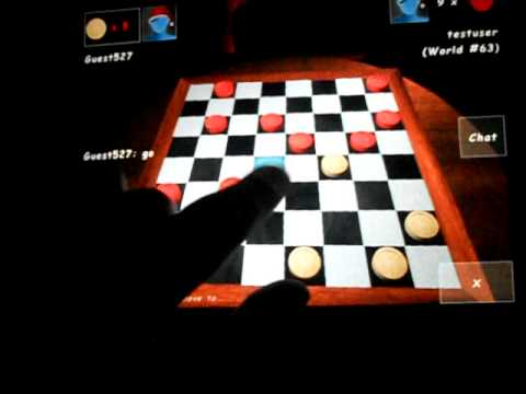Checkers Lounge 3D For IPhone,Ipad, Android And Nokia Symbian Phones