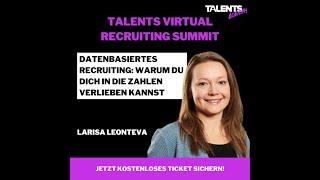 Einladung zum ersten Virtual Recruiting Summit am 08-11.09