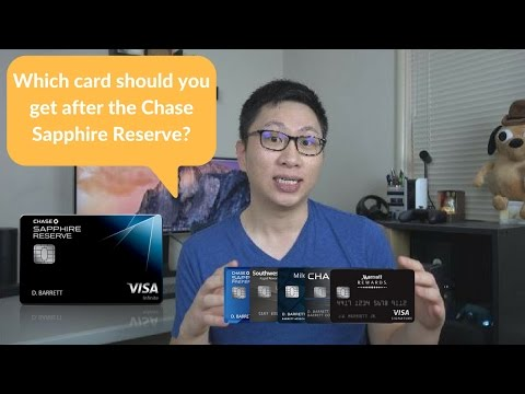 Which Chase Card Should You Get After The Chase Sapphire Reserve What Card Wednesday