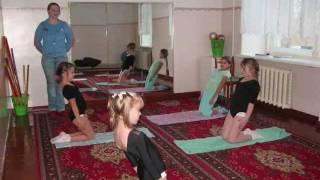 видео Адаптивная физическая культура с детьми с ограниченными возможностями здоровья.