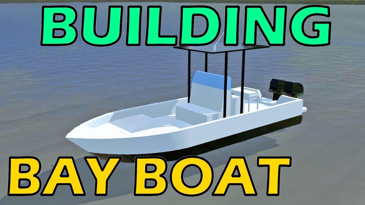 Farming Simulator 17 Modding - Building Center Console Bay Boat ...