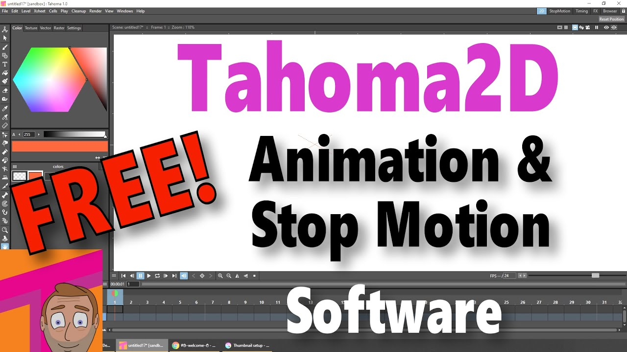 Download OpenToonz News: New FREE animation software is out now - Goodbye OpenToonz? Hello Tahoma