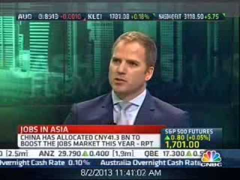 CNBC Asia interviews Guy Day, Chief Executive of Ambition - 2 August 2013