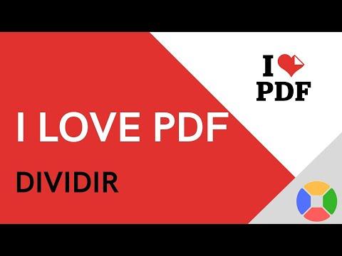 ♥️  Tutorial DIVIDIR con I LOVE PDF 2020 | Español | DIVIDIR un PDF o Seleccionar HOJAS ESPECÍFICAS