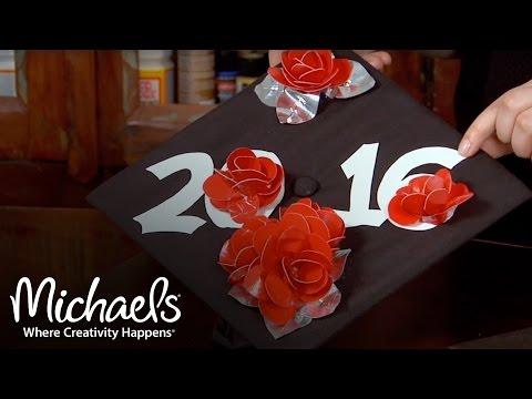 DIY Graduation Cap Decoration Ideas  | Party & Celebration Ideas | Michaels