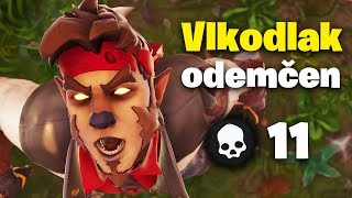 I'm on the hunt! 🐺 (Dire skin gameplay) Fortnite CZ/SK