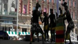 """""""ZVIDO ZVEVANHU""""Dance Ensemble,Harare,Zimbabwe:The Mbende Jerusarema Dance"""