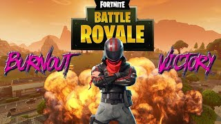 Burnout skin Fortnite - PS4 Gameplay