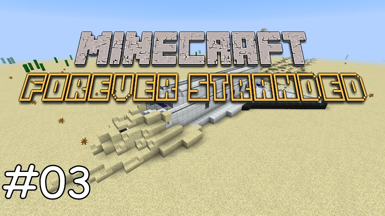 Repeat Minecraft Forever Stranded - E03 Porcelain Clay und