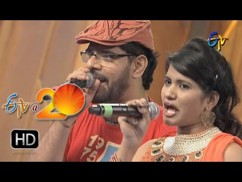 Uma Neha,Simha PerformanceTemper Song in Sattenapalli ETV @ 20 Celebrations