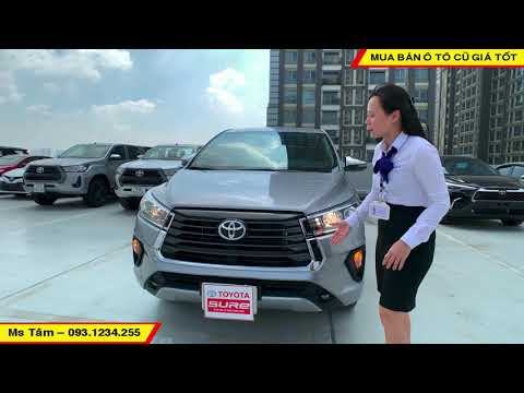 Xe Siêu Lướt Toyota Innova 2.0G 2021 Mới Chạy 1.430km Thanh Lý Giá Cực Tốt   Tâm Toyota Tân Cảng