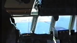 Aeroflot Ilyushin Il-62 San Francisco Intl Airport (SFO) approaching, landing, taxiing