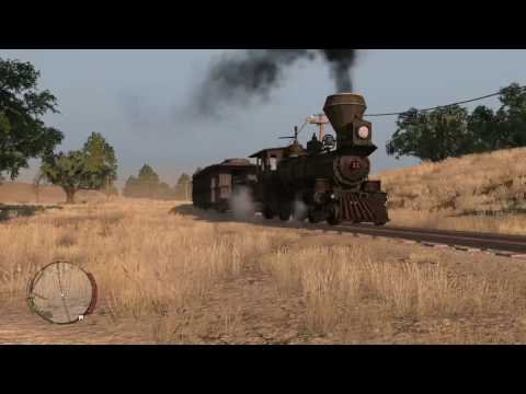 Red Dead Redemption - Going For A Train Ride