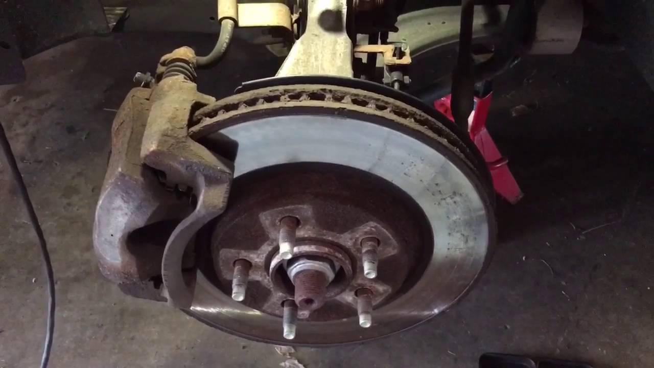2008 pontiac g6 brake rotors
