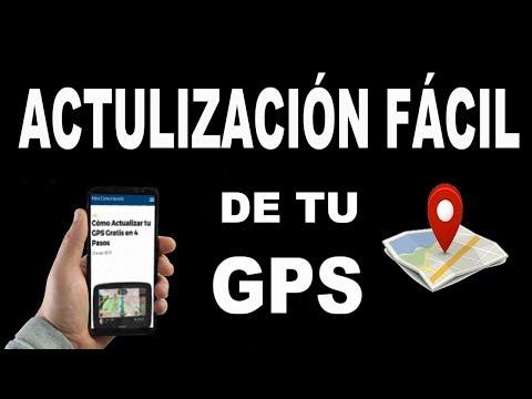 ¿Cómo Actualizar tu GPS Gratis?