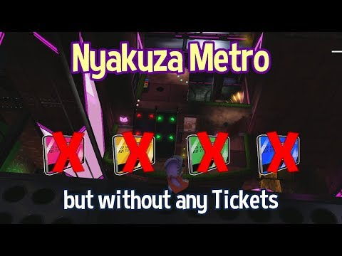 Nyakuza Metro without any Tickets? Challenge Guide - A Hat in Time