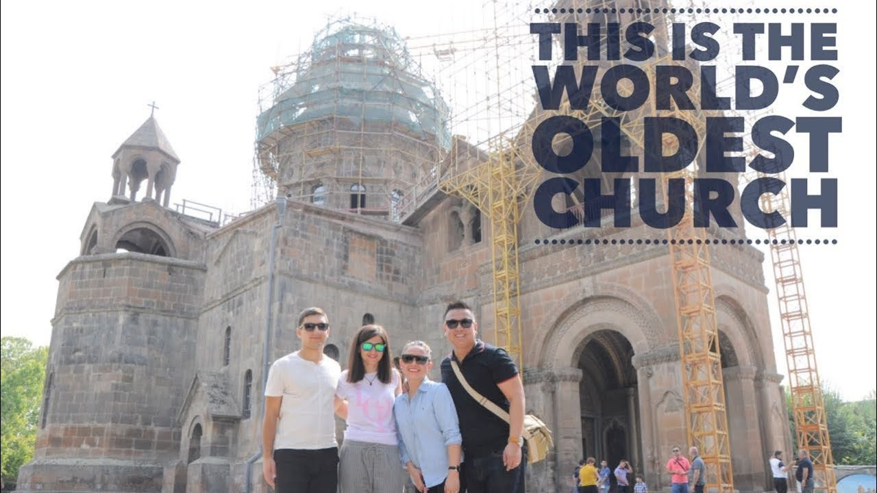 HOLY ETCHMIADZIN - The World's Oldest Cathedral | ARMENIA TRAVEL VLOG  Series Part 4