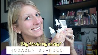 The Ordinary Skincare and Foundation For Rosacea Haul + Skin Update!   Rosacea Diaries