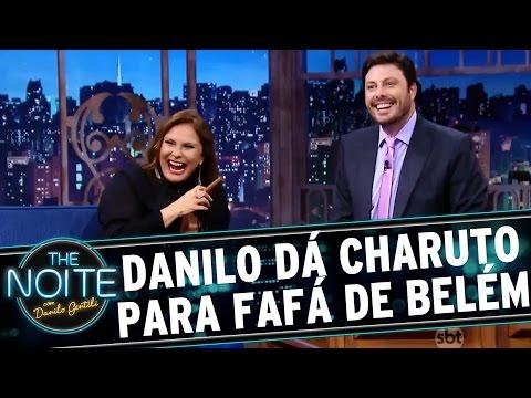 The Noite (14/03/16) - Danilo Dá Charuto Para Fafá De Belém