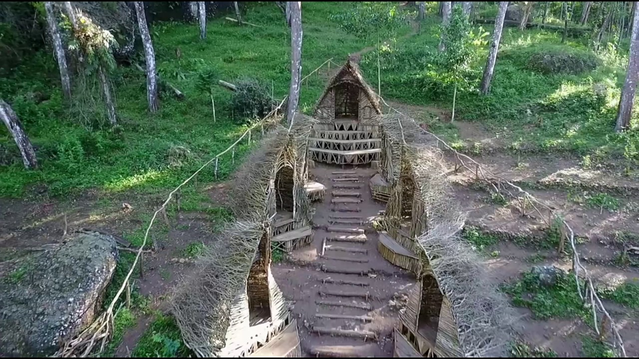 rumah hobbit jogja unik