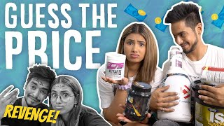 GUESS THE SUPPLEMENT PRICE 😏💵 | REVENGE TIME