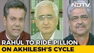 Rahul Gandhi In Backseat: Can Akhilesh Yadav Pedal His Cycle To Victory?