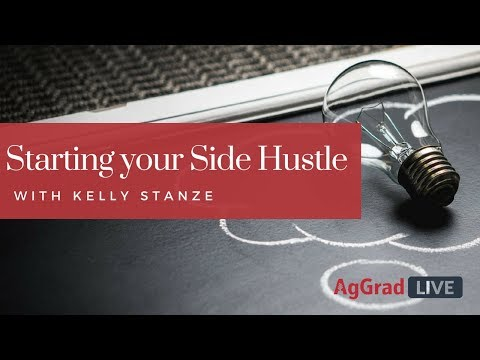 Starting a Side Hustle with Kelly Stanze