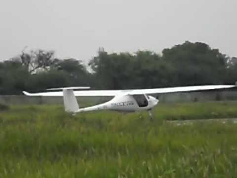 Motor glider ride at IITK Kanpur (Sinus)