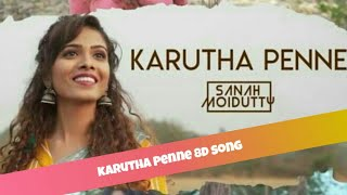 Karutha penne 8d song || Tamil latest album song