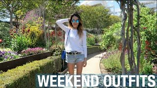 Walkin' in L.A. • Weekend Vlog & Lookbook | ttsandra thumbnail